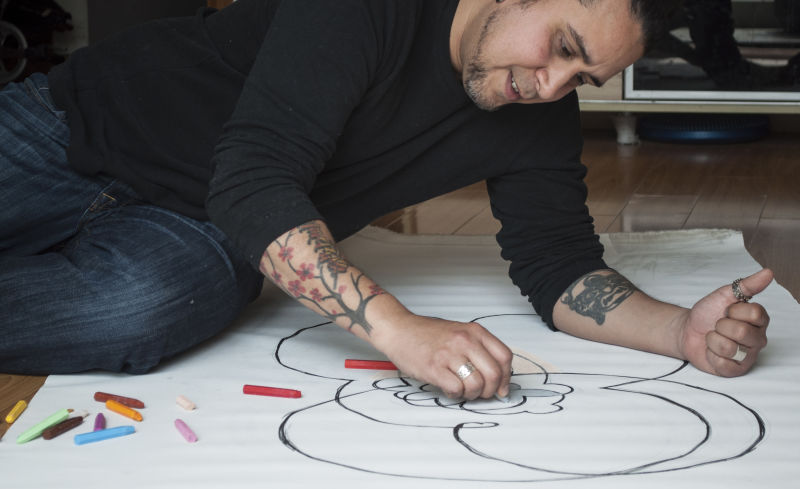 An Artist curious about our relationship with life