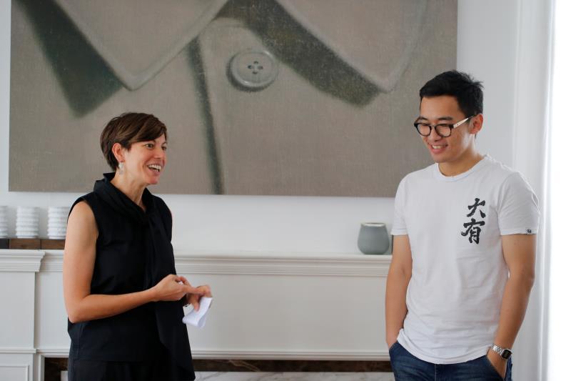 Informal Art meetings with Italian roots